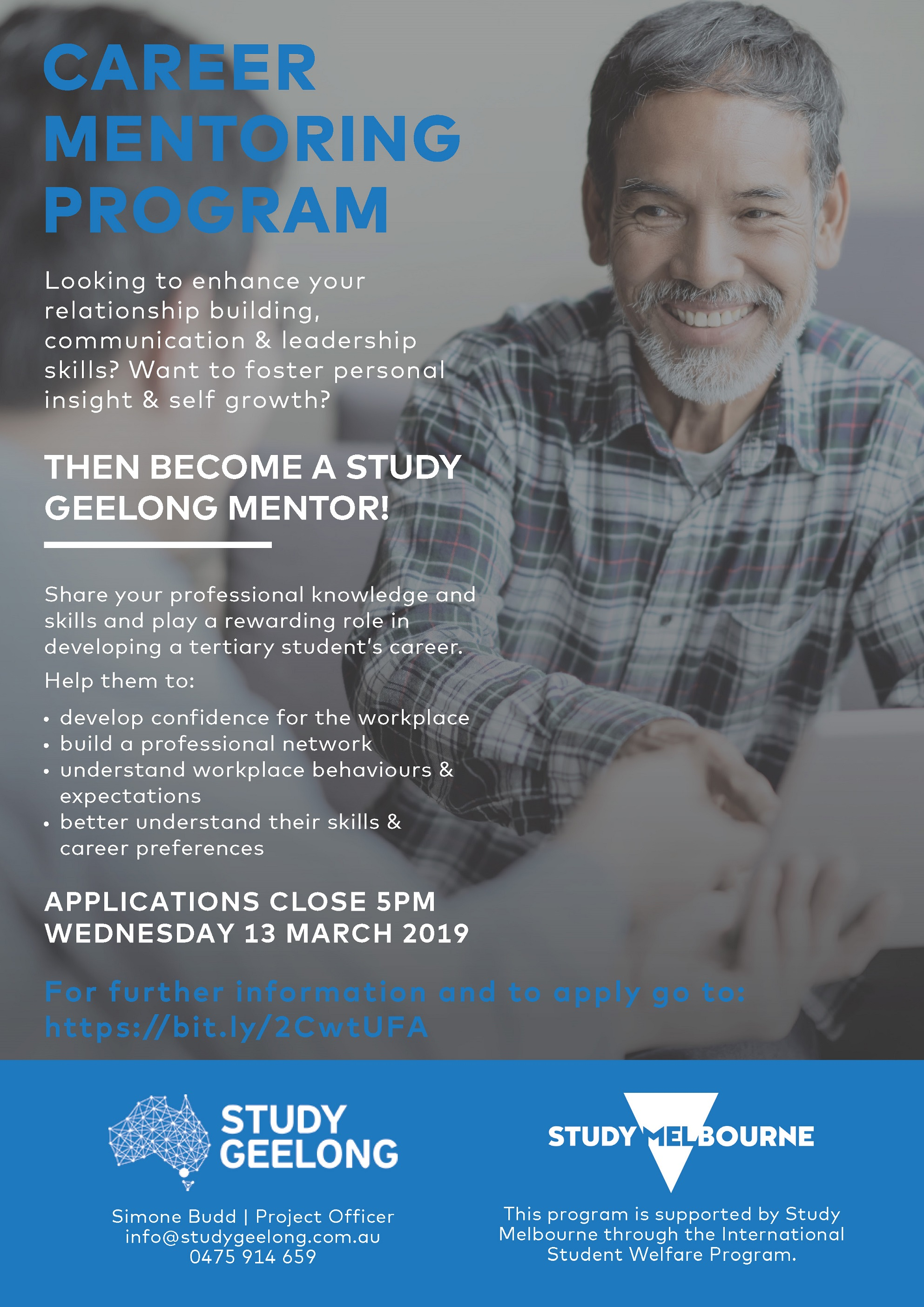 Study Geelong A4 Poster Mentors FINAL web